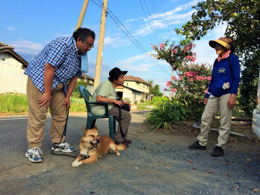 MIX犬9歳 根性よく吠え続ける犬ジョン君!!(預かり訓練)勉強会 その2